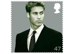 "PRINCE WILLIAM HAS HIS OWN POSTAGE STAMP!  He got it in 2003, in celebration of his ""coming of age."" This is not to be confused with the official Royal Wedding stamps, which are being sold through the British Royal Mail service. Now you know."