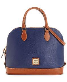 Dooney & Bourke Zip Top Satchel - Dooney & Bourke - Handbags & Accessories - Macy's