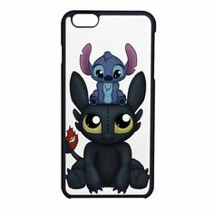 Stitch And Toothless Can I Sit Here iPhone 6 Case