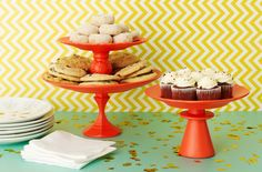 Clinton Kelly Candlestick Cake Stands