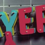 3D Layers Text Effect in Photoshop CS6 Command-Option-Shift-E