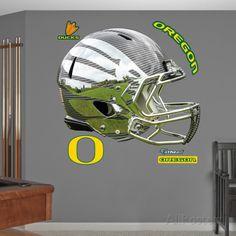 Oregon Liquid Carbon Helmet Wall Decal Sticker Wall Decal at AllPosters.com