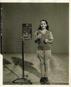 1944 Elizabeth Taylor Wardrobe Test Still for 'National Velvet' (Costume Designs by Irene). by Alice Japan, Flickr