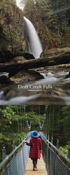 Amazing Hike on the Oregon Coast - Photo Guide to Drift Creek Falls Hike, Lincoln City // Local Adventurer Oregon Road Trip, Oregon Travel, Oregon Hiking, Oregon Vacation, Oregon Coast Hikes, Travel Portland, Hiking Trails, Vacation Spots, Vacation Ideas