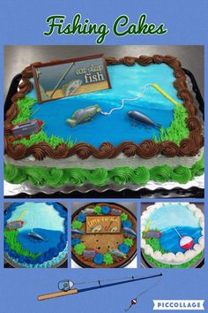 Fishing Themed Cakes