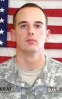 Army SGT Joel L. Murray, 26, of Kansas City, Missouri. Died September 4, 2007, serving during Operation Iraqi Freedom. Assigned to 2nd Battalion, 16th Infantry Regiment, 4th Infantry Brigade Combat Team, 1st Infantry Division, Fort Riley, Kansas. Died of injuries sustained when an improvised explosive device detonated near his vehicle during combat operations in Baghdad, Iraq.