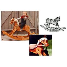 Check out Woodworking Project Paper Plan to Build Merrilegs Rocking Horse from Woodcraft