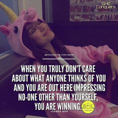 In the end, people will judge you anyway .Don't live to impress others. Live your life impressing yourself.