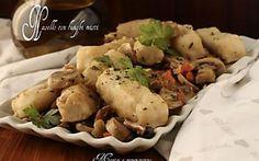 Nasello con funghi misti (Secondi di pesce - Ricetta facile)