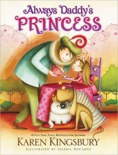 Always Daddy's Princess: Great book for a father to give a daughter who is having a baby girl.