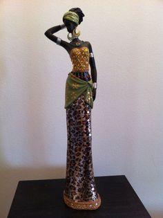 African Statue African Art African Woman Tanzania by phantomas2011, $89.99