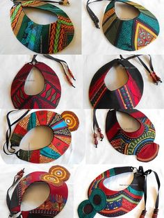 5 Top African Fashions for Men – Designer Fashion Tips Diy African Jewelry, African Crafts, African Accessories, African Earrings, Fabric Earrings, Fabric Beads, Textile Jewelry, Fabric Jewelry, Big Jewelry