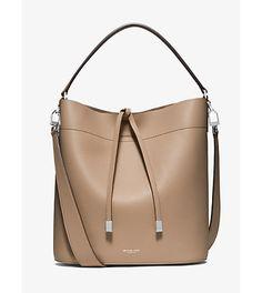 Miranda large leather shoulder bag by Michael Kors Collection.