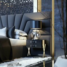 Unique office furniture in combination with the current layout make a statement in your home, . Headboards For Beds, Bedroom Furniture Design, Headboard Designs, Room Design, Bedroom Headboard, Bedroom Bed Design, Master Bedroom Interior Design, Bed Headboard Design, Modern Bedroom