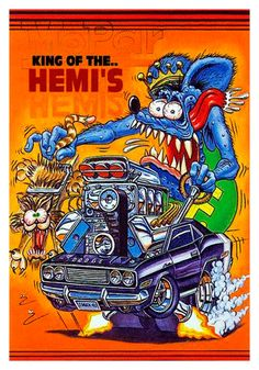 Rat Fink, Rat Rods, Ed Roth Art, Ranger, Garage Art, Garage Signs, Car Drawings, Dragon Drawings, Us Cars