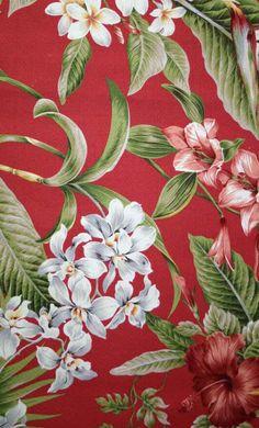 Hawaiian Floral Prints - Big Kahuna Fabrics