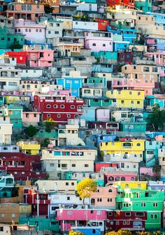 There is so much to see in Haiti. This photo of a hillside in Port-au-Prince was my most liked photo on Instagram in 2015.