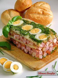 Húsvéti aszpikos főtt tarja   Bibimoni Receptjei Sandwiches, Fish, Meat, Pisces, Paninis