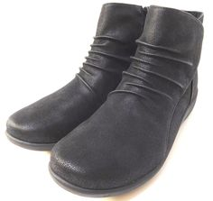 6e1a57c51f9 Clarks Women s Sillian Chell Closed Toe Ankle Fashion Boots Leather Black US
