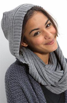 hood scarf