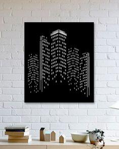 Göktelen Metal Poster -Skyscraper