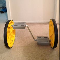 Coolest toy in a while- super fun!  ***Bonus: great exercise!***