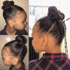 Mixed Baby Hairstyles, Black Kids Hairstyles, Kids Braided Hairstyles, Princess Hairstyles, Little Girl Hairstyles, Down Hairstyles, Toddler Hair Dos, Toddler Girl, Kid Braid Styles