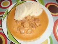 RECEPTY OMÁČKY   Mimibazar.cz Thai Red Curry, Peanut Butter, Ethnic Recipes, Red Peppers, Nut Butter