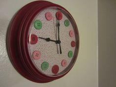 Clock Makeover tutorial