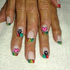 Beauty, Nail Manicure, Fingernail Designs, Hands, Beauty Illustration