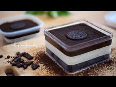 Oreo Desserts, Pudding Desserts, Cheesecake Desserts, Chocolate Cheesecake, Dessert Boxes, Dessert Cups, My Dessert, Oreo Box, Indonesian Desserts