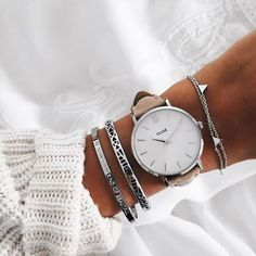 Stay on time and super cute with our stylish Minuit!  #CLUSE #Minuit