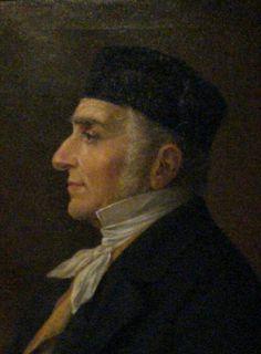 Ritratto di Antonio Pedrocchi, di Achille Astolfi, di metà 800, conservsto al Museo del Risorgimento e dell'età contemporanea, Padova.