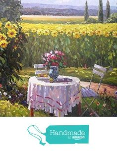 Sunflower-Oil painting-Hand painted original landscape painting-Artwork for Home Decor-Order scenery paintings on canvas without stretched frame-Custom original painting-107 from SunBirdArts http://www.amazon.com/dp/B01AIJUD4U/ref=hnd_sw_r_pi_dp_kyuMwb044GMQ1 #handmadeatamazon