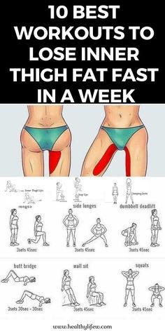 workout routine thighs Do you want to lose inner thigh fat at home fast in a week Simply these 10 best workouts to lose inner thigh fat in just a week Fitness Workouts, Fitness Motivation, Exercise Motivation, Fun Workouts, Yoga Fitness, At Home Workouts, Health Fitness, Physical Fitness, Body Workouts