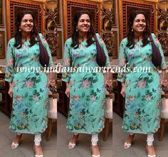 Latest Salwar and Designer Dresses: Sangita Jindal printed salwar kameez