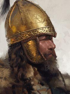 Warrior, Grzegorz Przybyś on ArtStation at https://www.artstation.com/artwork/g55ke