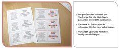 Danke für die Farbenfrohe Zeit, kostenlose Bastelanleitung und Druckvorlage in 2 Varianten von shesmile