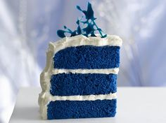 Royal Blue Velvet Cake (R)