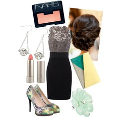 Dream Cocktail Dress, created by cdice222 on Polyvore