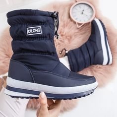 Cizme Aneirin bleumarine de zapada Boots, Winter, Casual, Fashion, Crotch Boots, Moda, Heeled Boots, Shoe Boot, Fasion