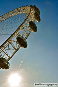 The Eye - London , #England via: Behind The Lens Lukey