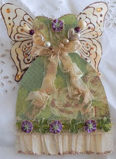 fairy dress no. 3, with stick pins by AllThingsPretty..., via Flickr