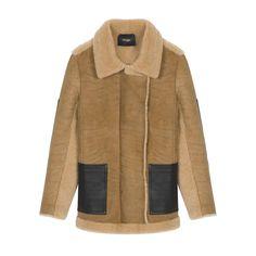 maje manteau racoon épis