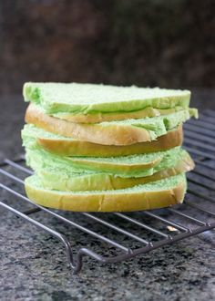 Pandan Bread (Tangzhong Method). Softest, fluffiest bread I ever baked!