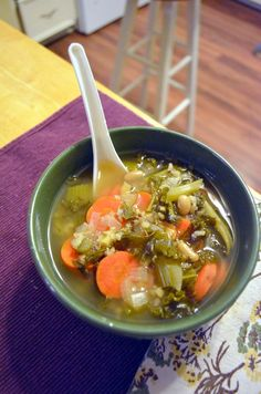 Vanishing Veggie: Arbonne Detox Day 3, Crock Pot Soup
