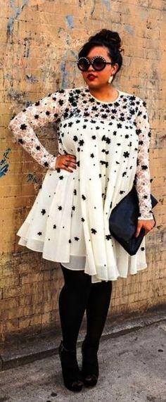 nice Adorable plus size winter fashion | Fashion Idea by http://www.globalfashionista.xyz/plus-size-fashion/adorable-plus-size-winter-fashion-fashion-idea/