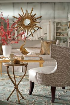 Use other coordinating discount designer fabrics (which are up to 80% off) from the Golden Glow FabricSeen Curated Fabric Collection to complete interior designs: http://blog.fabricseen.com/golden-glow-curated-fabric-collection/