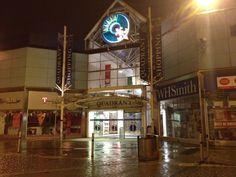 Swansea Quadrant Shopping Centre.
