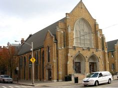 Formerly a church, now an Urban Outfitters